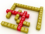 """3d Group Of Customer Service Related Words"" by David Castillo Dominici"